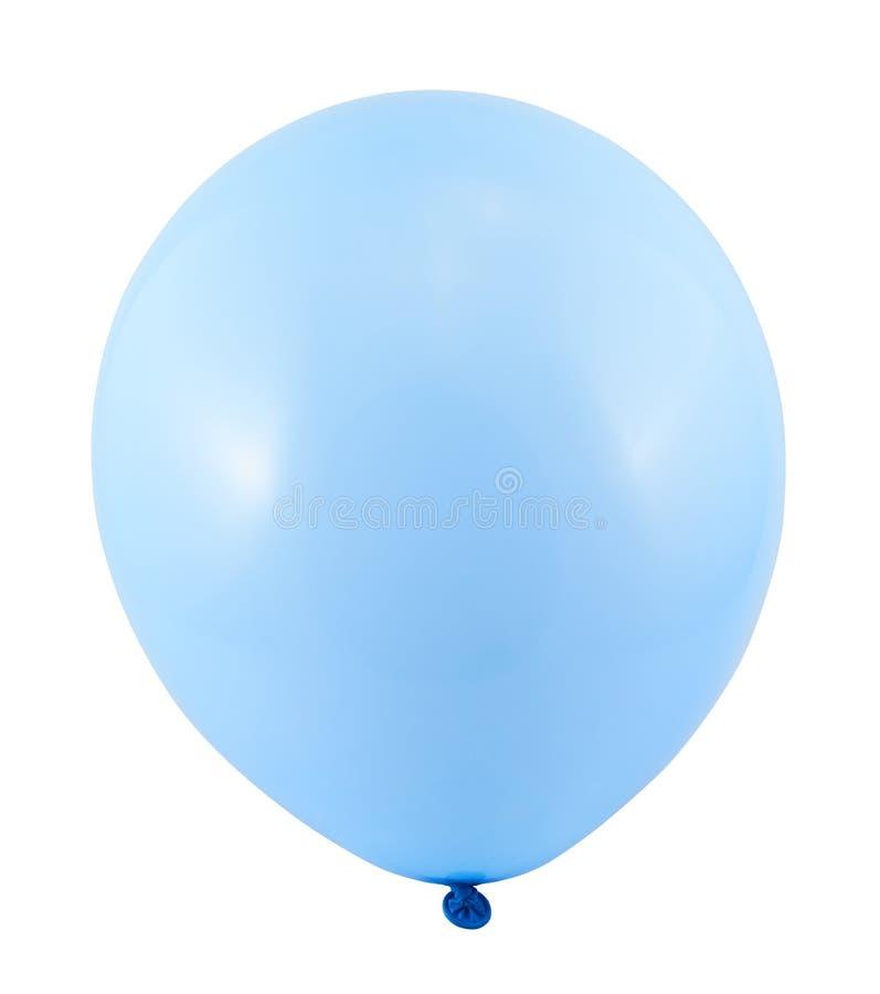 Польностью надутый изолированный воздушный шар стоковое изображение