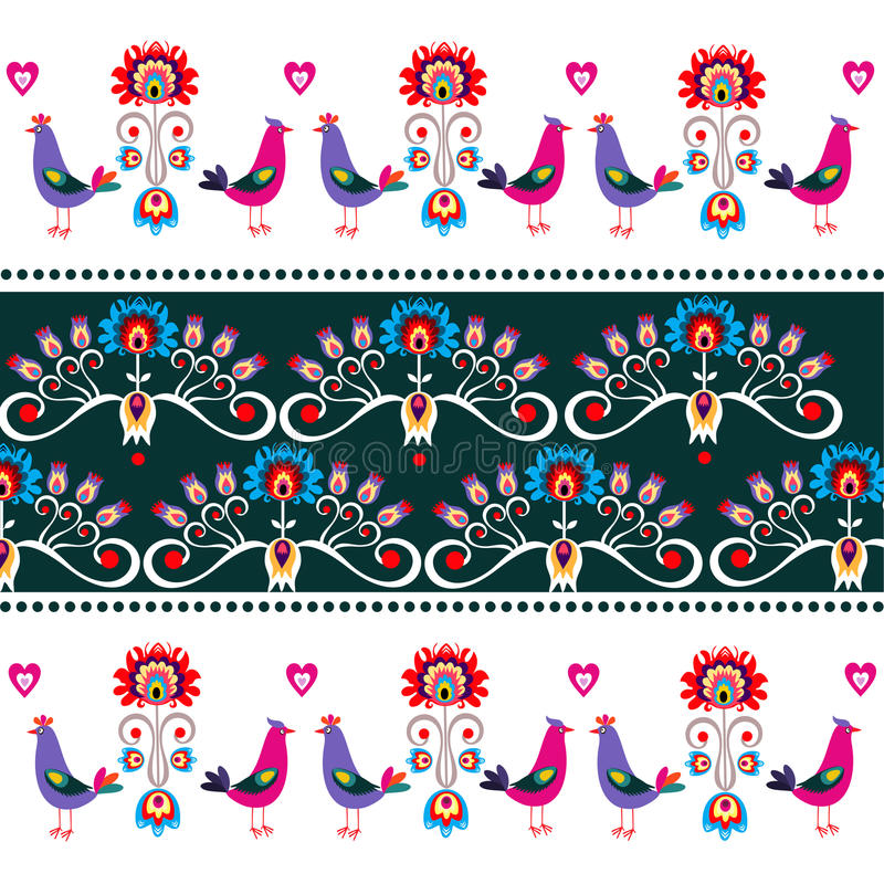 Download Польская воодушевленность дизайна Иллюстрация штока - иллюстрации насчитывающей ornate, украшение: 40585348