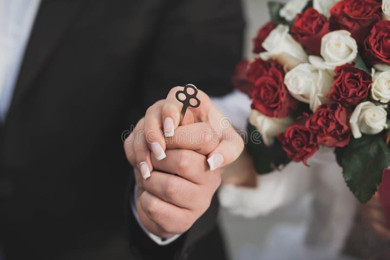 Полюбите всю жизнь День свадьбы! стоковые фотографии rf