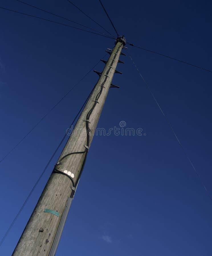 Поляк и кабели телефона стоковое фото