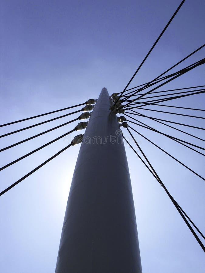 Поляк моста стоковые изображения