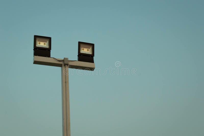 Поляк освещений электронный стоковая фотография rf