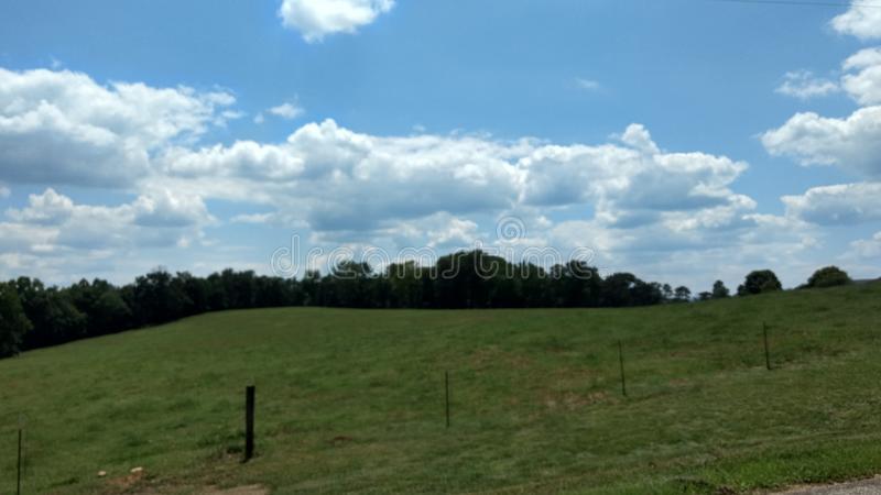 Поля Алабамы стоковые фото