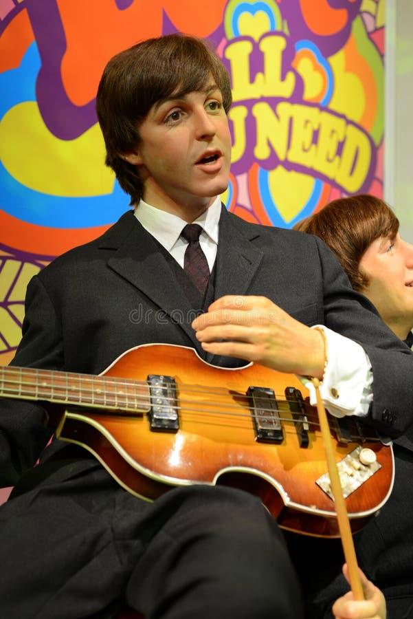 Пол McCartney, Beatles - Hall знаменитостей стоковые фотографии rf