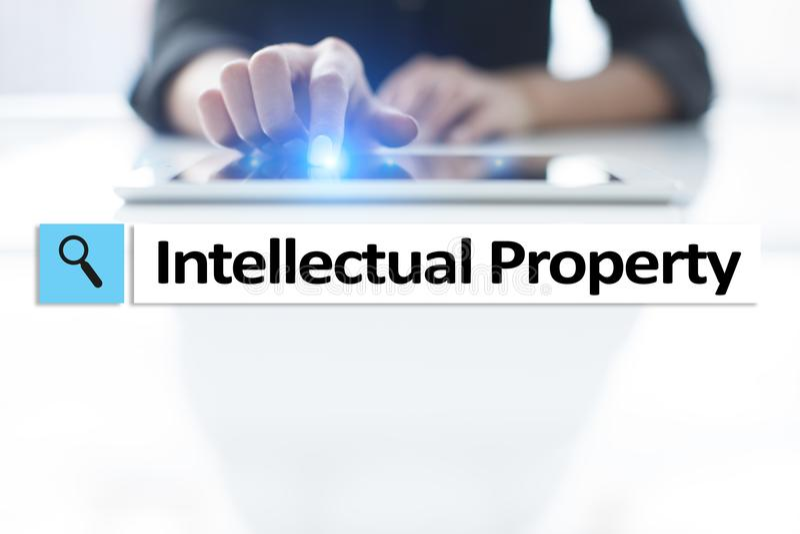 Права интеллектуальной собственности патент Дело, интернет и концепция технологии стоковое фото rf