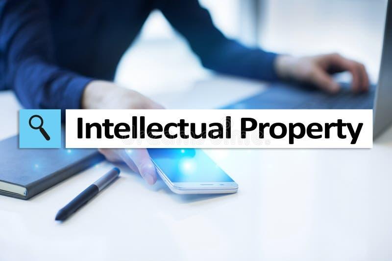 Права интеллектуальной собственности патент Дело, интернет и концепция технологии стоковые изображения