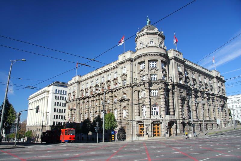 Правительство в Белграде стоковая фотография rf