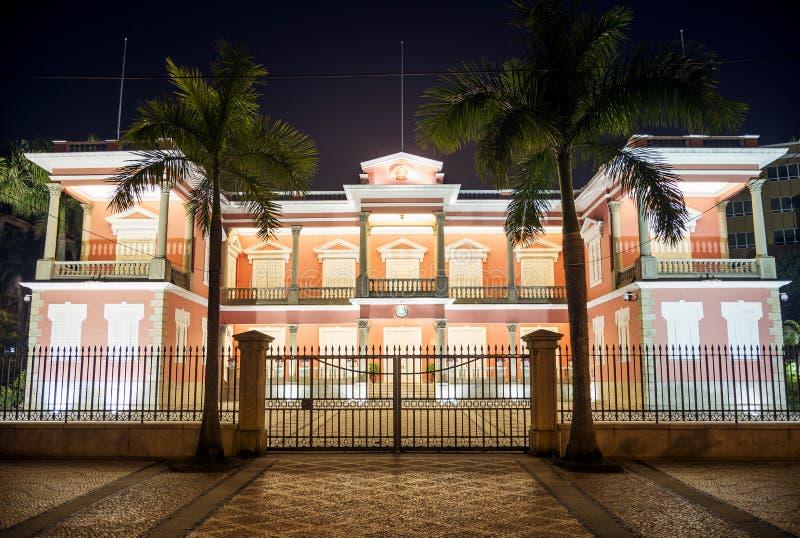 Правительство размещает штаб здание в фарфоре Макао Макао стоковое фото
