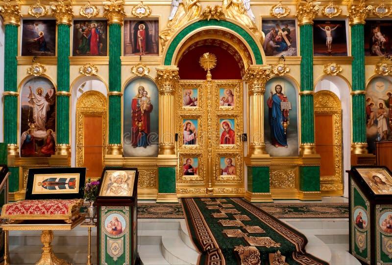 правоверное церков нутряное стоковые фото