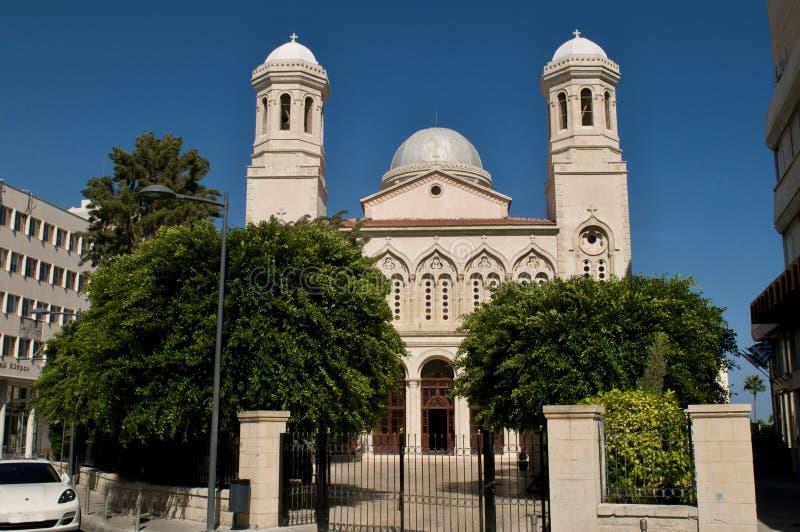 Правоверный греческий собор Лимасол Кипр стоковые изображения
