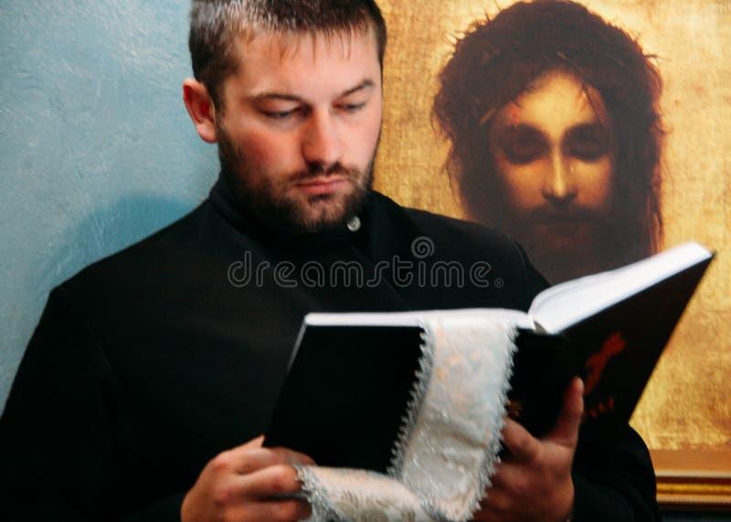 правоверный священник стоковое изображение rf