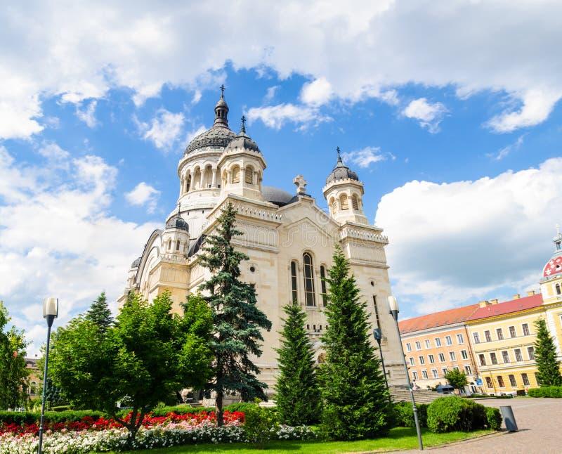 Правоверный собор в Cluj Napoca, области Трансильвании Румынии стоковые фото