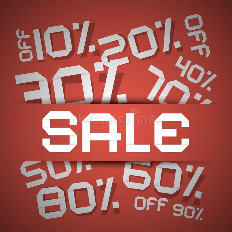 Правовой титул продажи - иллюстрация вектора скидки иллюстрация штока