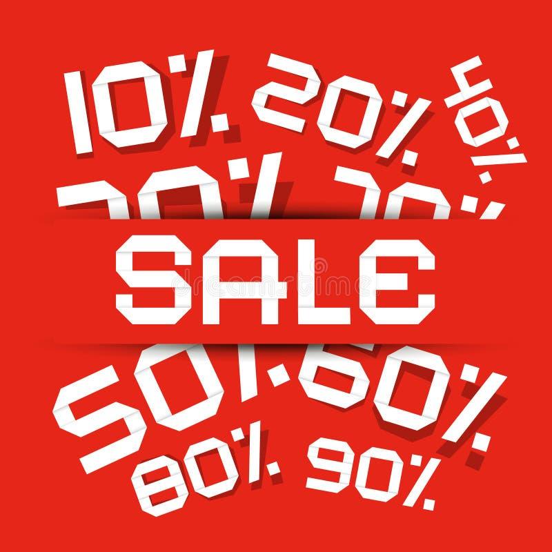 Правовой титул продажи - иллюстрация вектора скидки бесплатная иллюстрация