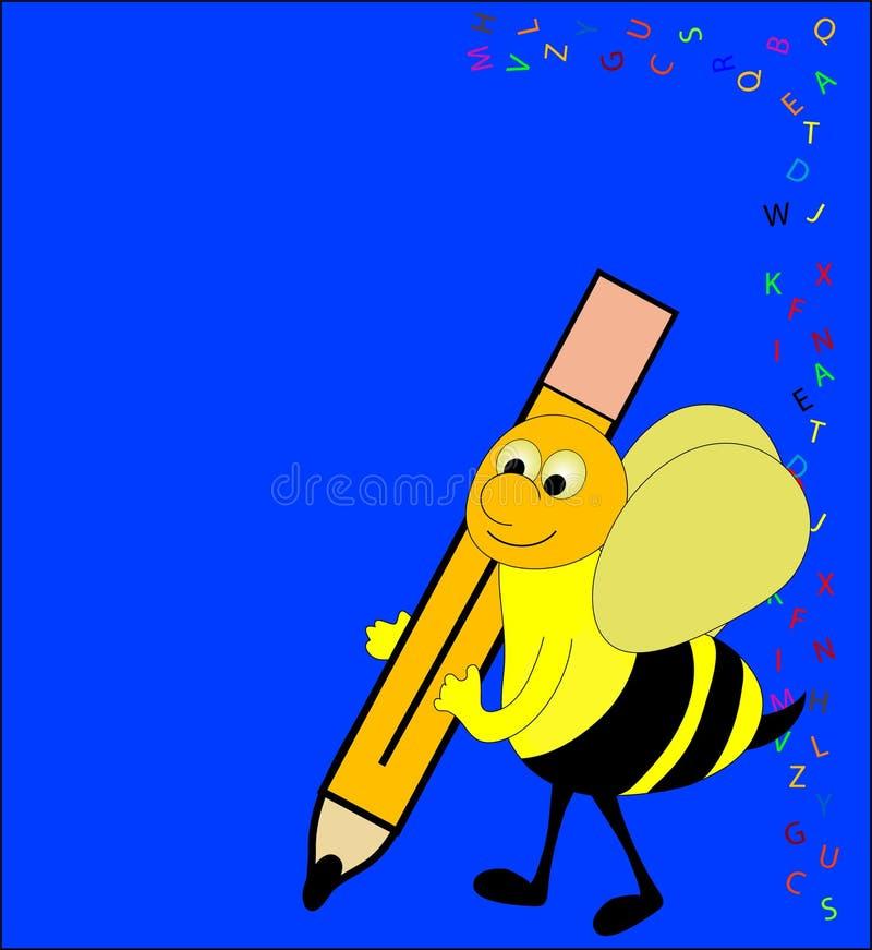 правописание пчелы иллюстрация штока
