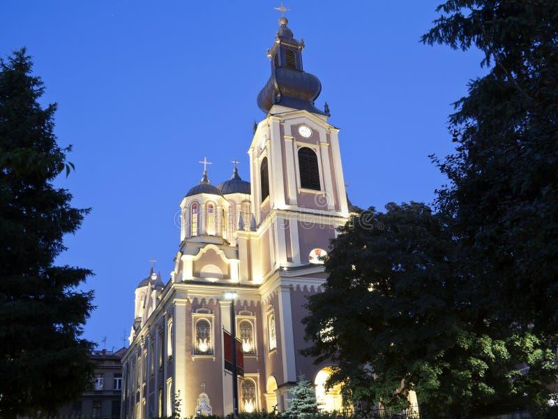 Православная церков церковь в Сараев стоковое изображение rf