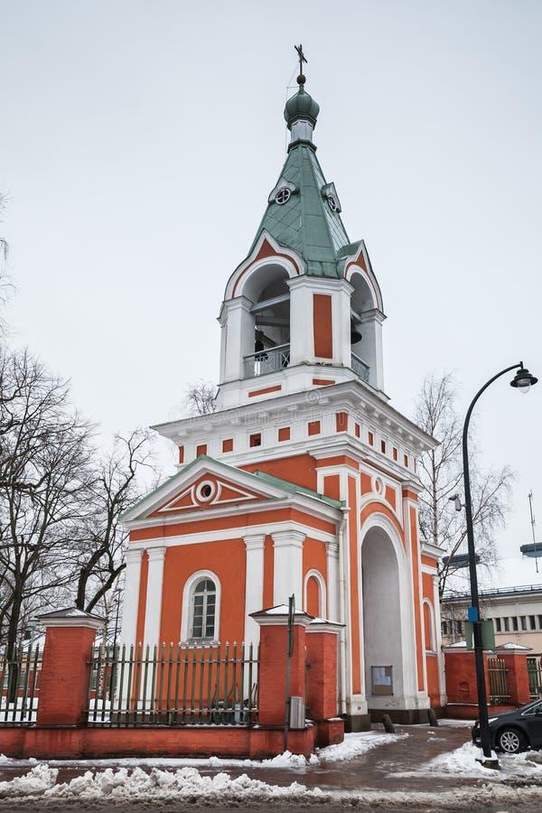 Православная церков церковь в Hamina, Финляндии стоковые фото