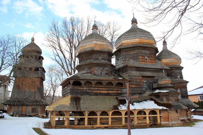 Православная церков церковь St. George в Drohobych, Украине стоковые изображения