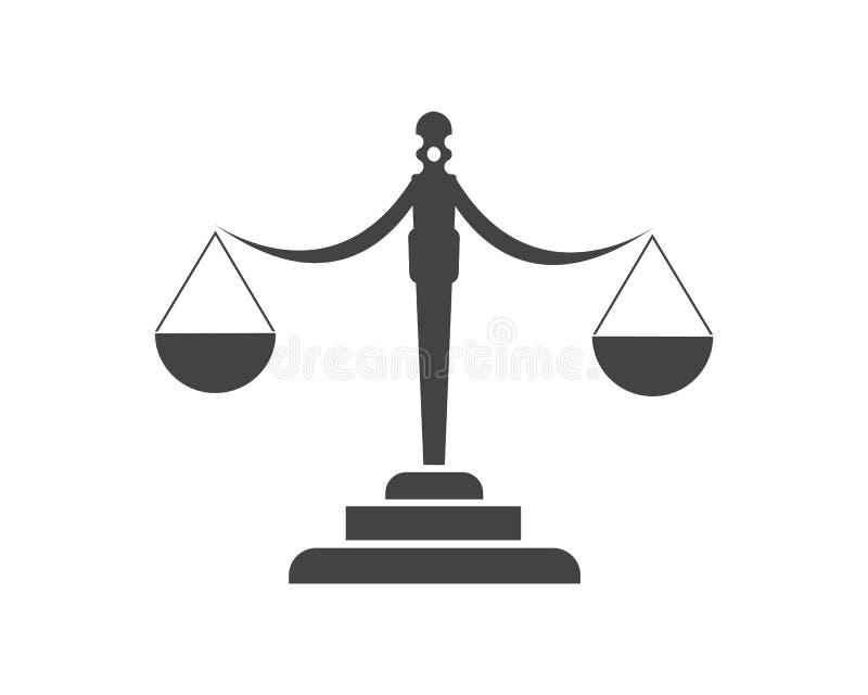 правосудие иллюстрация штока