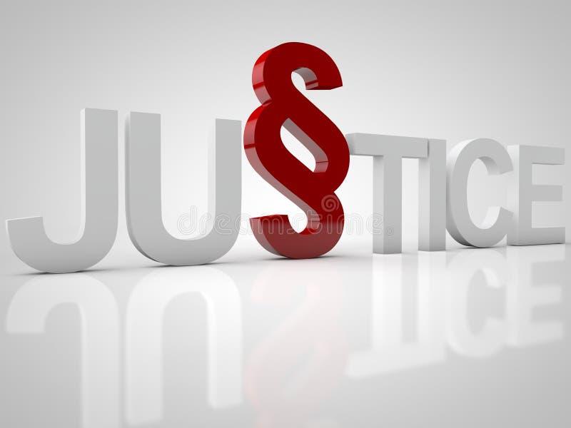 правосудие иллюстрация вектора