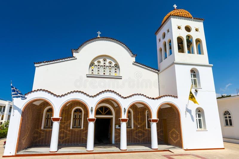 Православная церков церковь в Крите, Греции стоковое фото rf