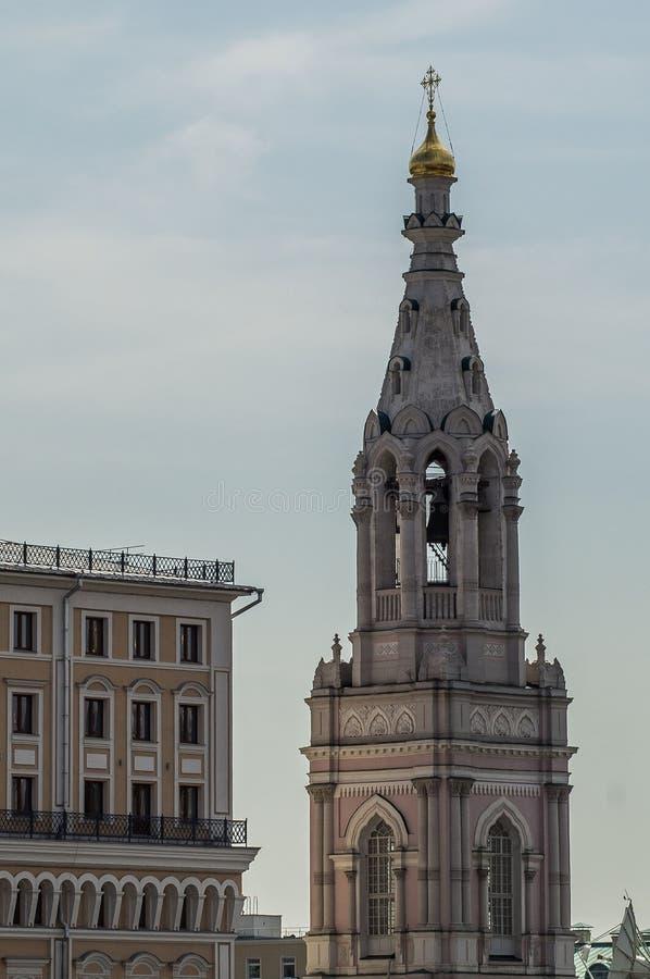 Православная церков церковь в Москве стоковые фотографии rf
