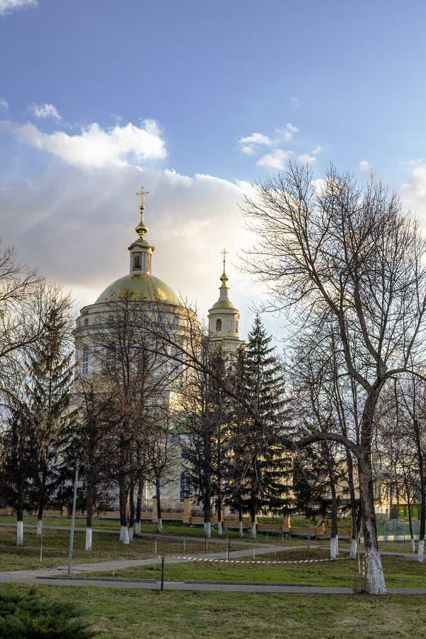 Православная церков церковь стоковое изображение