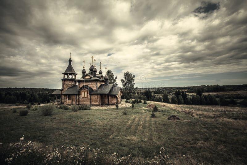 Православная церков церковь стоковая фотография rf