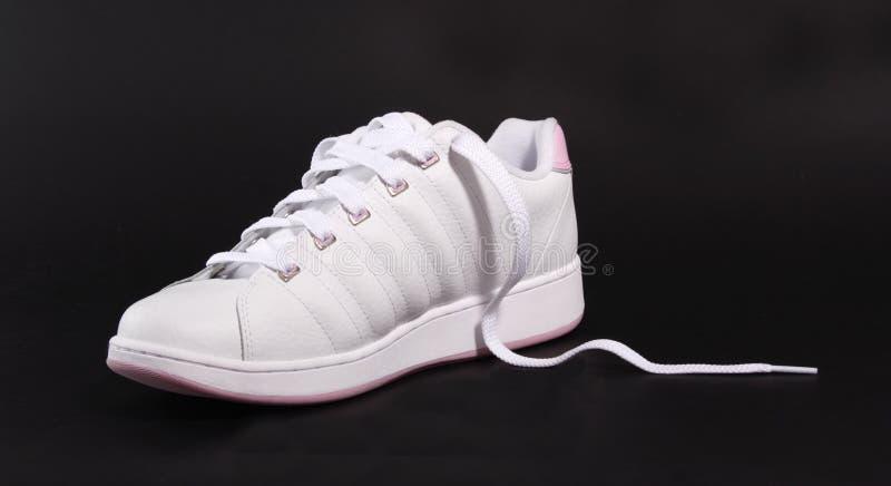 правый ботинок стоковое изображение rf