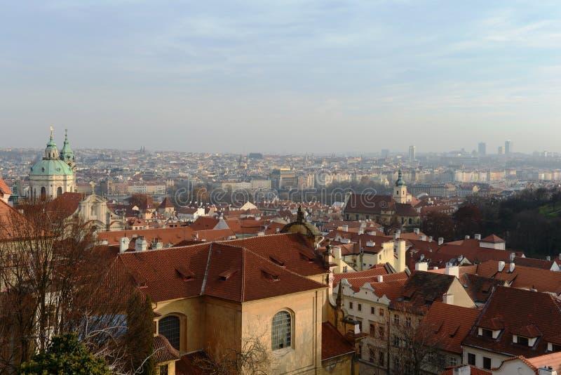 Прага Взгляды города стоковое фото rf