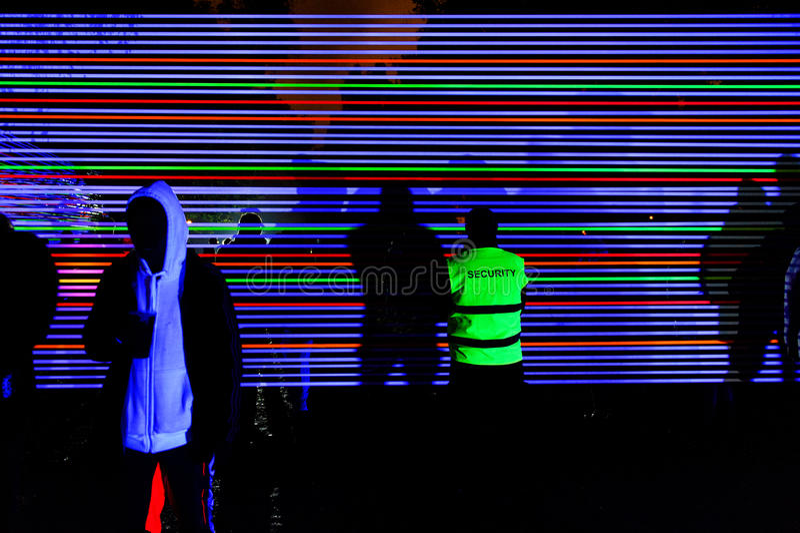 ПРАГА, ЧЕХИЯ - 15-ОЕ ОКТЯБРЯ: Фестиваль 2015 сигнала стоковые изображения rf