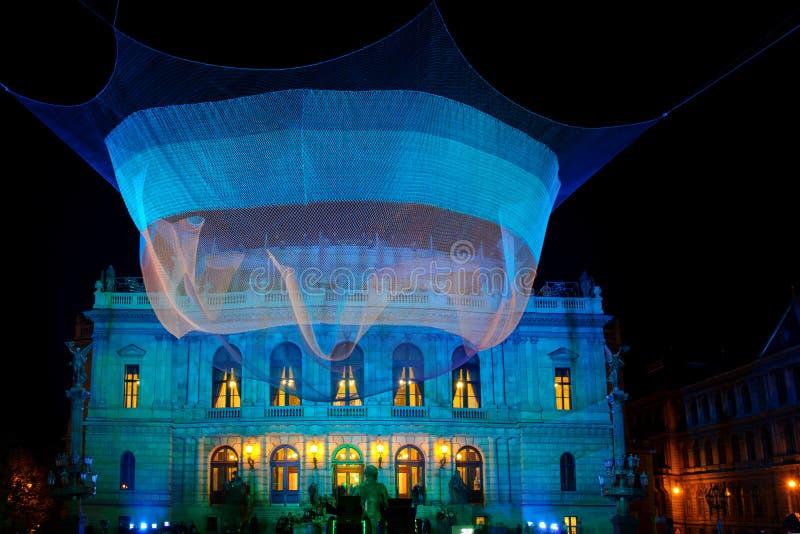 ПРАГА, ЧЕХИЯ - 17-ОЕ ОКТЯБРЯ: Фестиваль 2015 сигнала стоковое фото rf