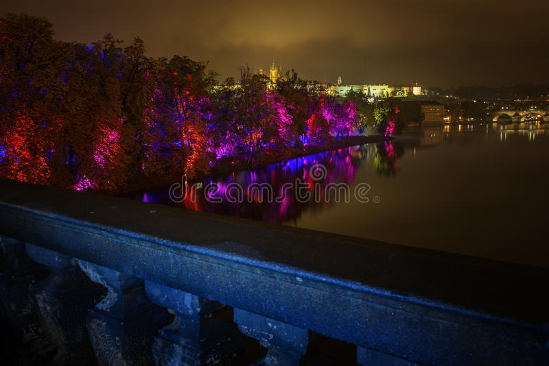 ПРАГА, ЧЕХИЯ - 15-ОЕ ОКТЯБРЯ: Фестиваль 2015 сигнала стоковое изображение rf