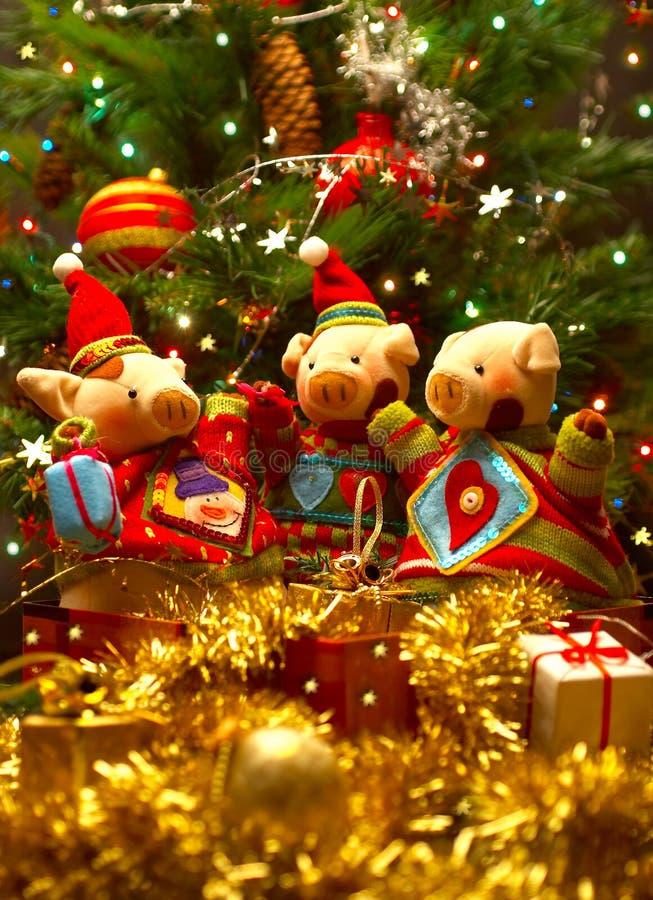 праздненства рождества стоковые изображения
