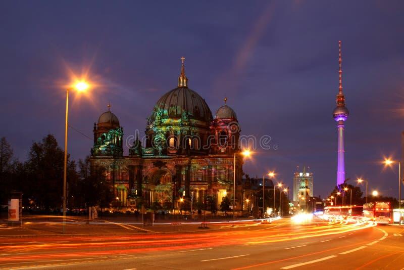 Празднество Берлин светов стоковая фотография rf