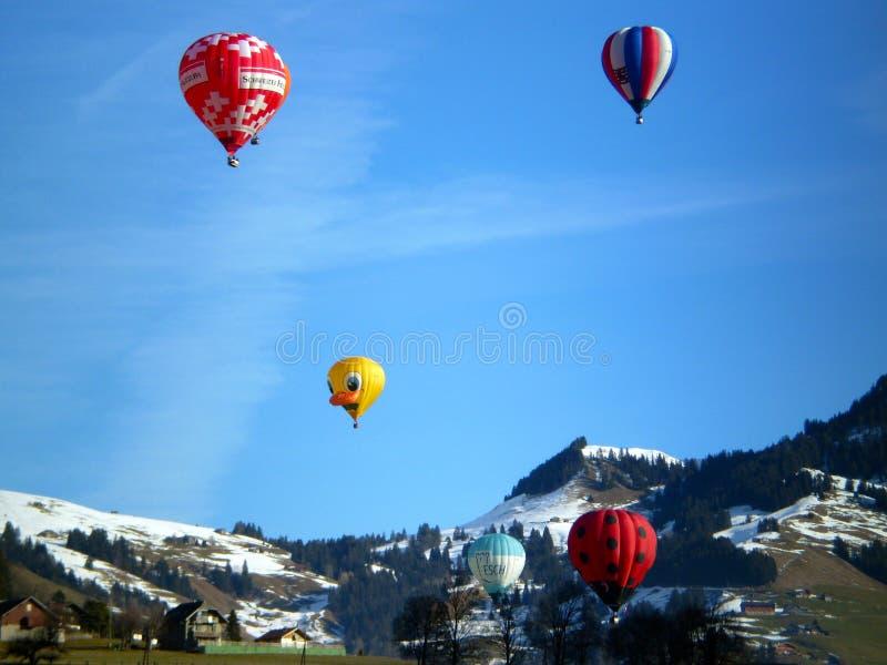 празднество воздушных шаров горячее стоковая фотография rf