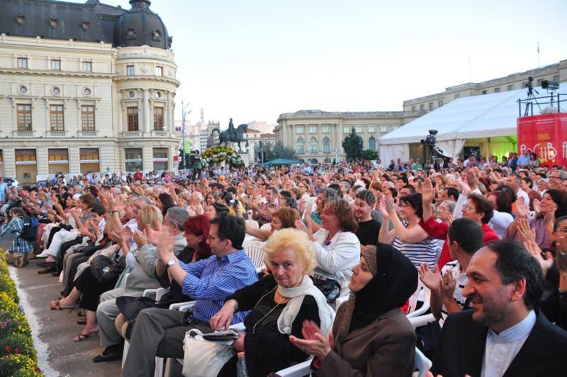 Празднество Джордж Enescu стоковые фото