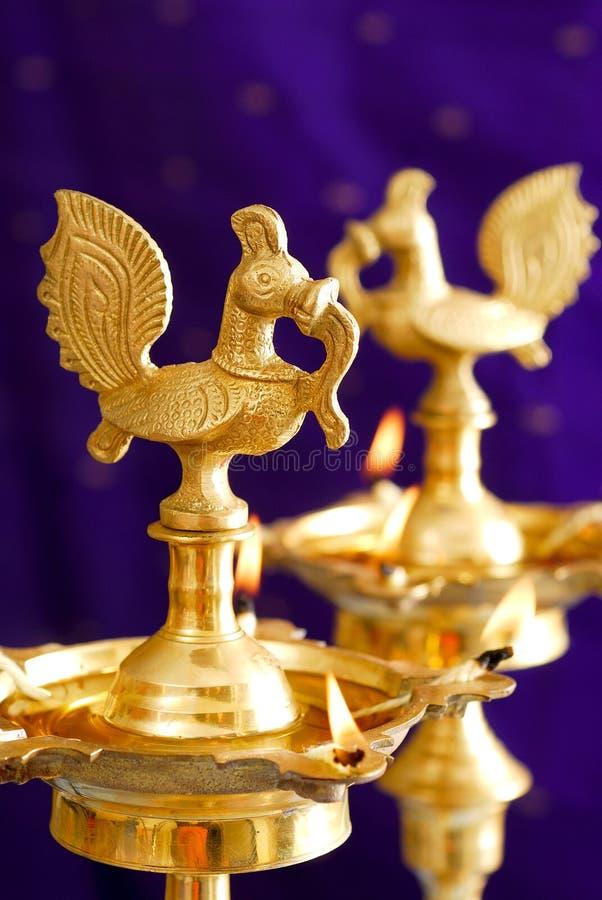 Празднество света (Diwali) стоковое фото