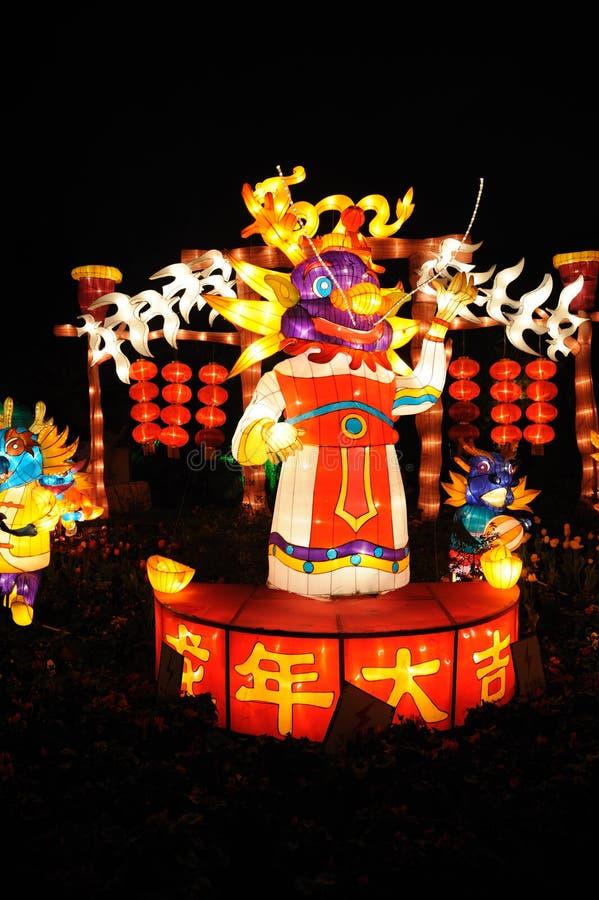 Празднество фонарика Новый Год 2012 китайцев стоковая фотография