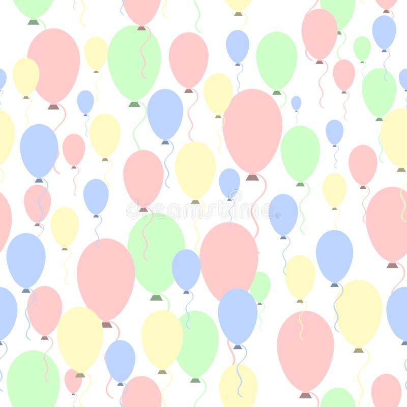 празднество 2005 baloons воздушных шаров может картина novosibirsk иллюстрация вектора