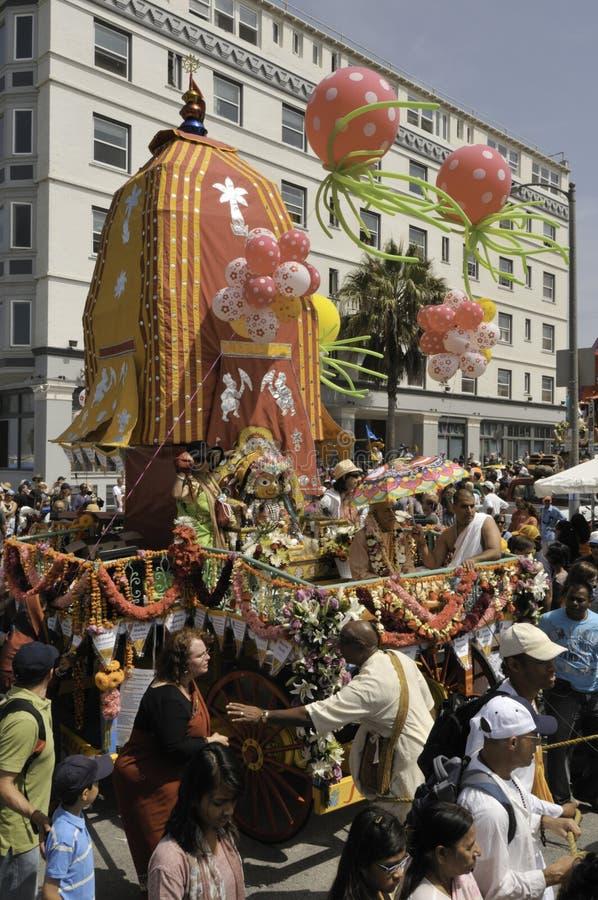 празднество chariots стоковое фото rf