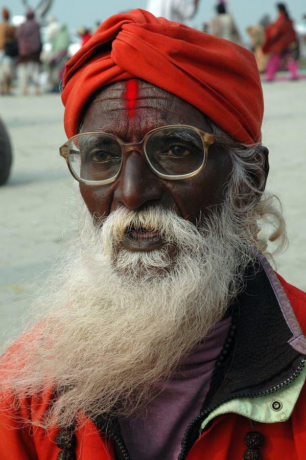 празднество gangasagar Индия стоковое фото rf