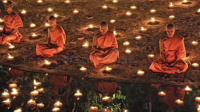 Празднество Loy Krathong в Chiangmai стоковые фото
