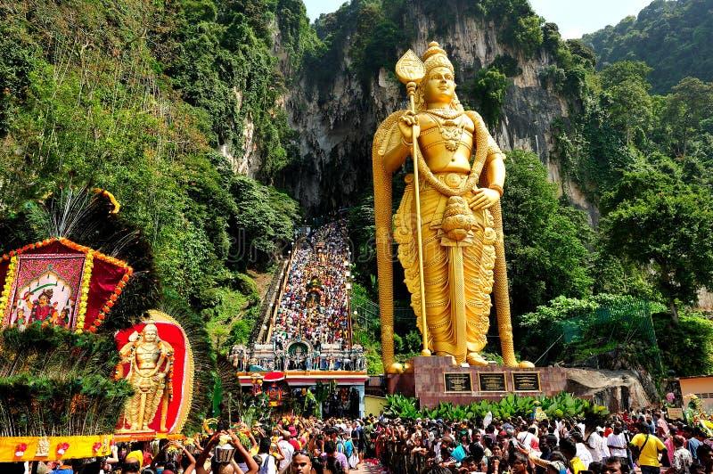 Празднество Thaipusam стоковые изображения rf