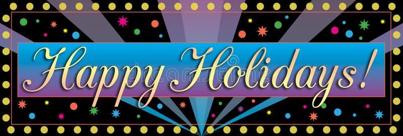 праздники знамени счастливые бесплатная иллюстрация