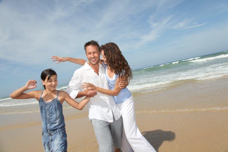 праздники семьи счастливые стоковые фото