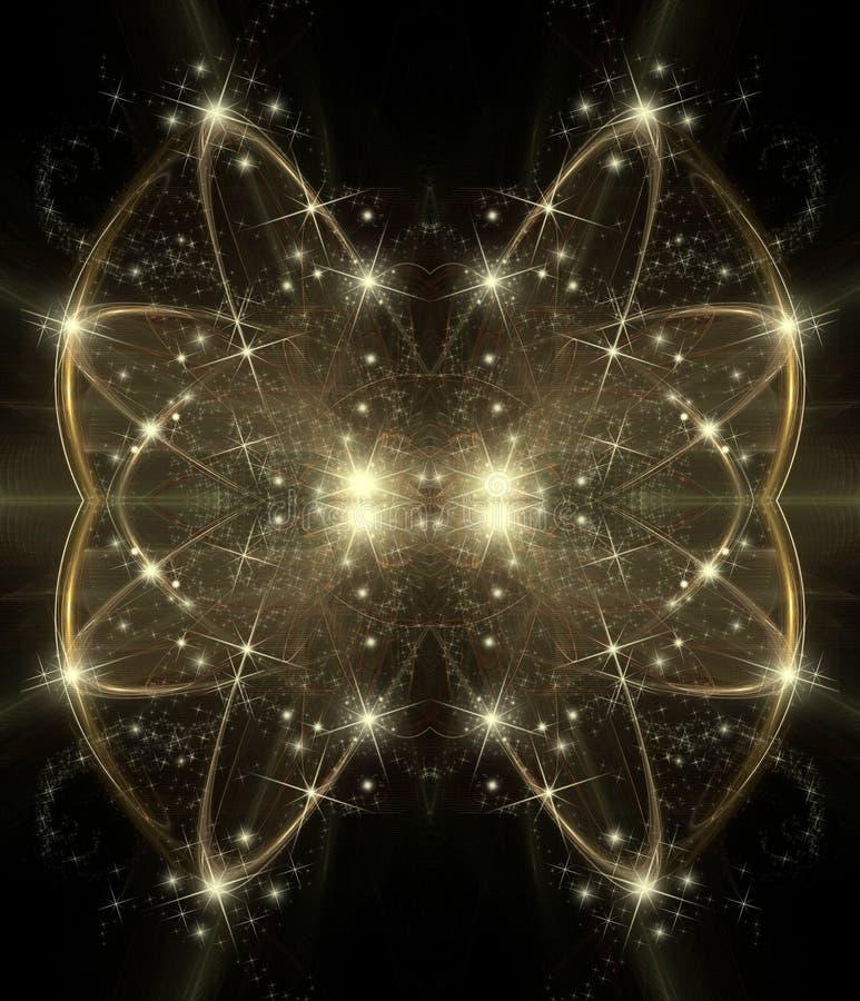 праздник абстрактной предпосылки космический иллюстрация штока