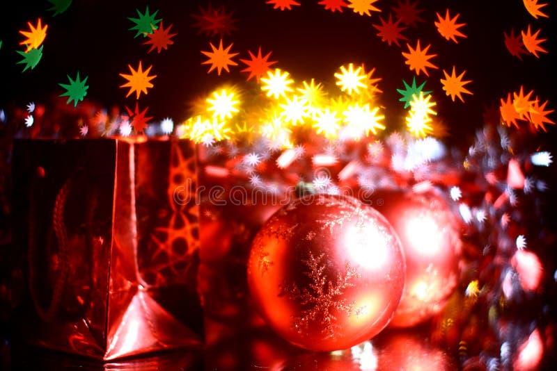 Download праздник подарков стоковое фото. изображение насчитывающей накалять - 6863164