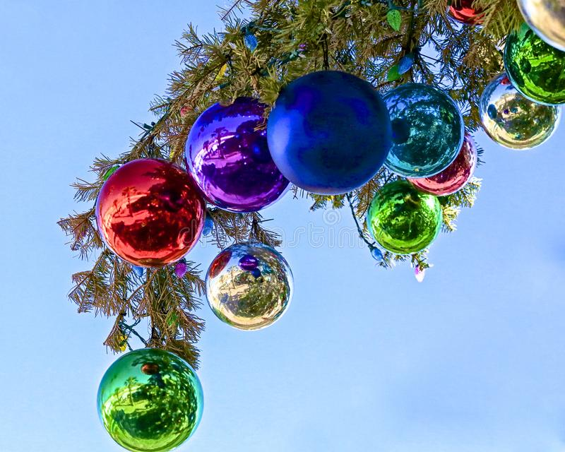 Праздник шариков рождества стоковые фото
