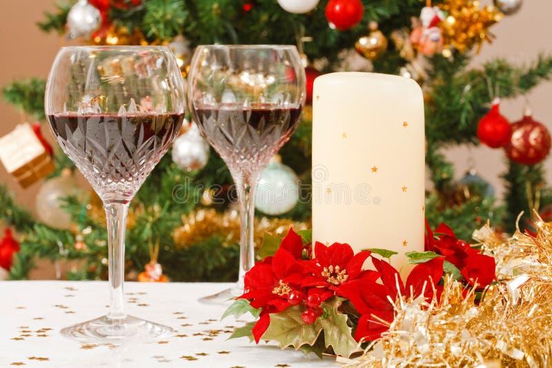 праздничная таблица стоковое изображение
